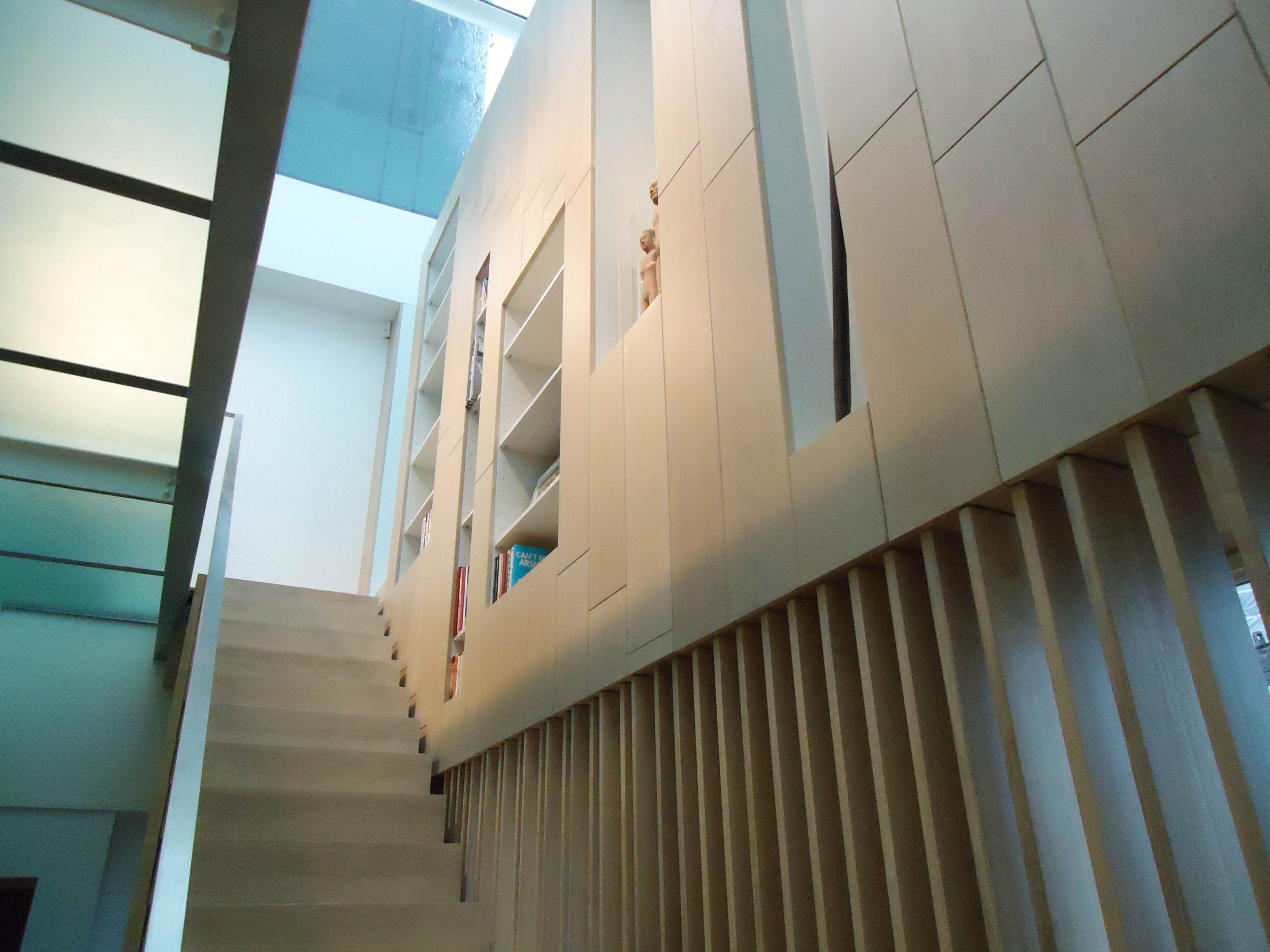 Kandd indoor stairs cabinetry