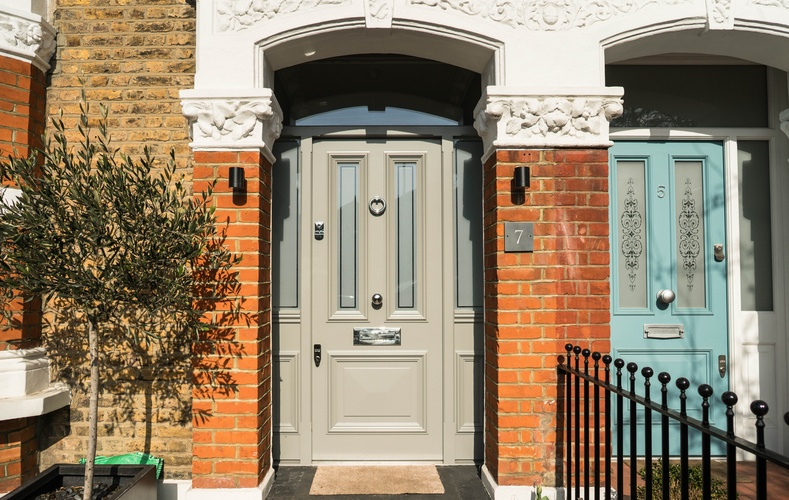 Timber Front Doors, Wooden, London