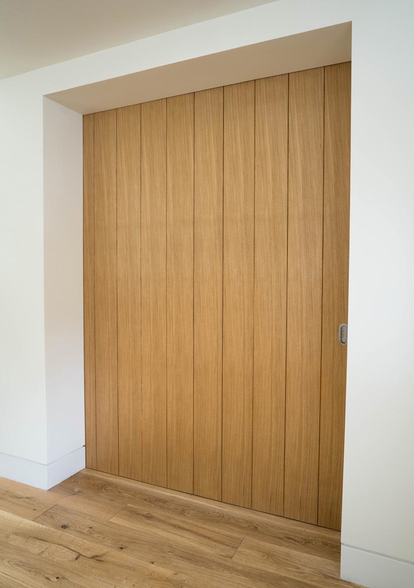 wooden plank internal door large