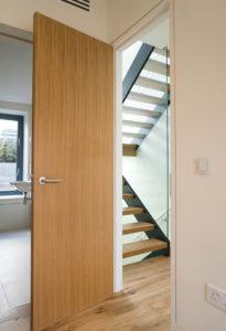 wooden panel internal door