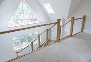 Staircase and handrail - K&D Joinery London