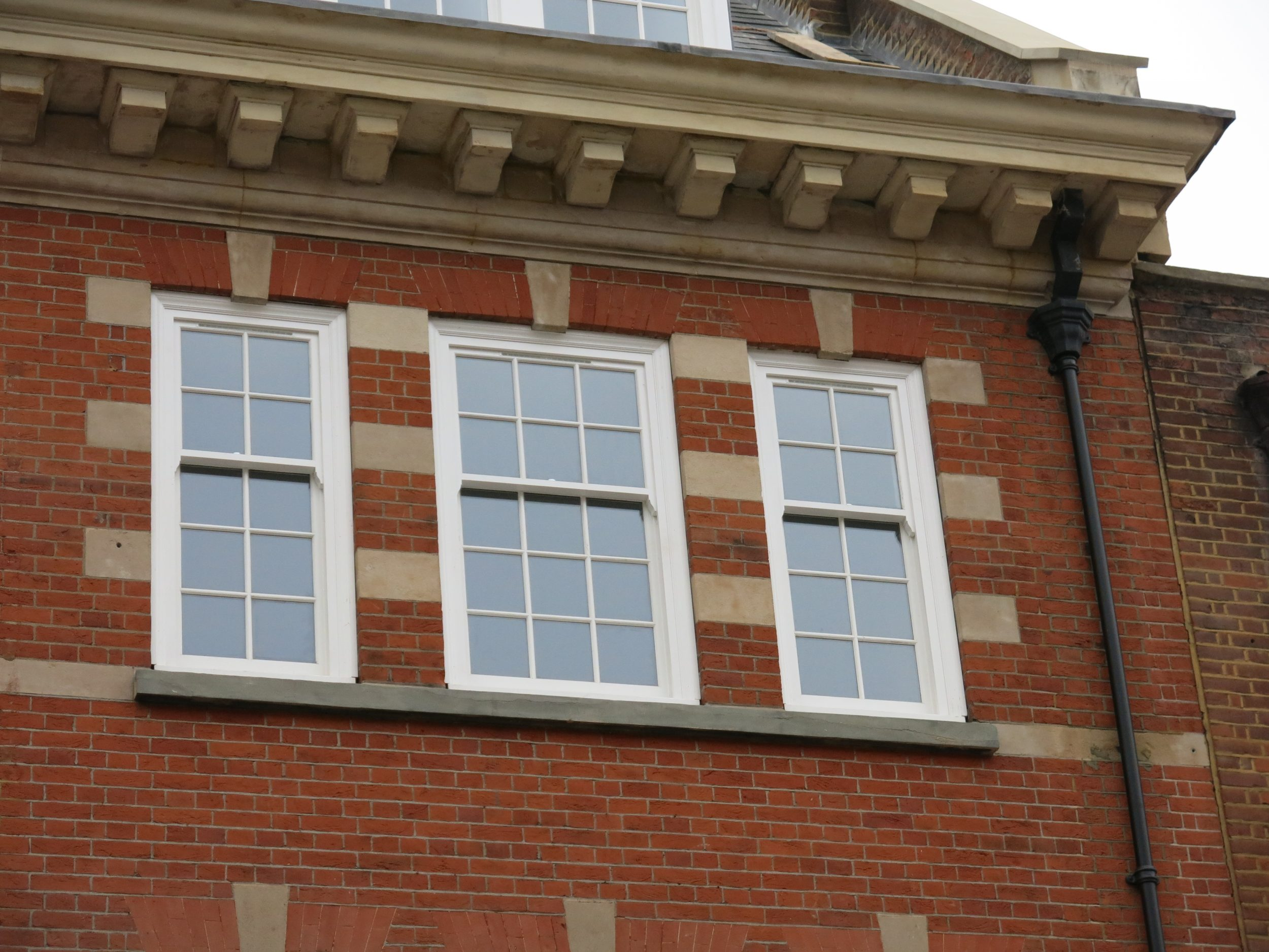 Wooden Sash windows, London