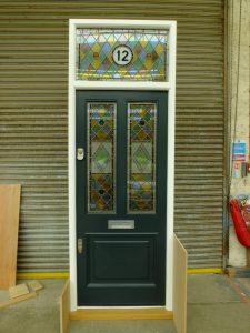 Victorian Front Door, wood - London