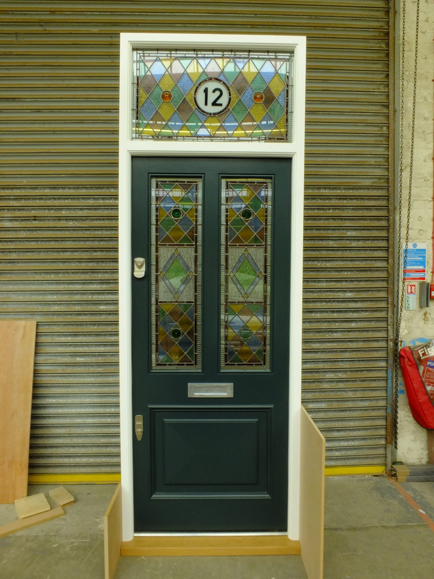 Victorian Front Door, wood - London