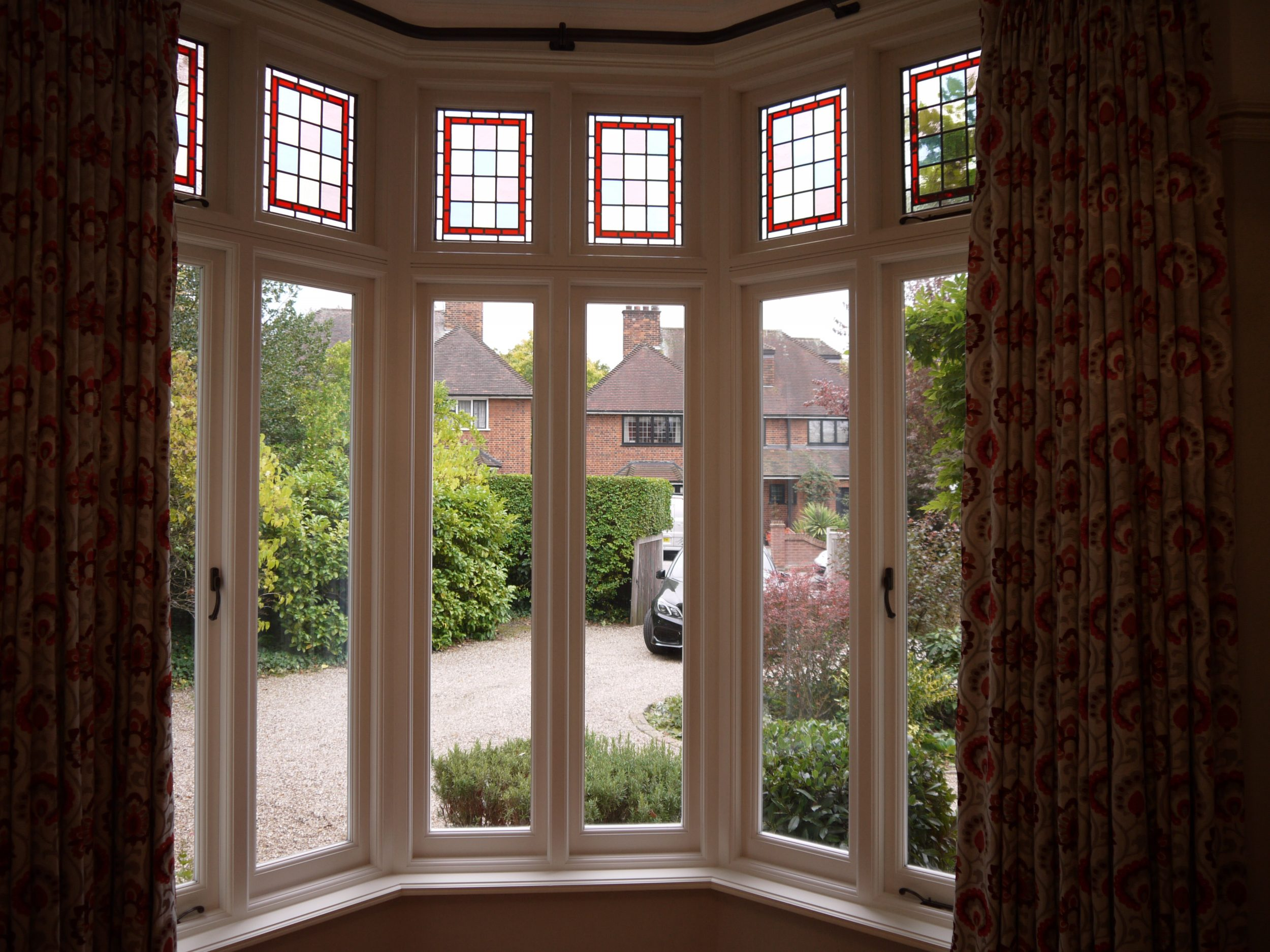 Wooden Casement windows, London