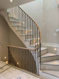 Handrail on Staircase