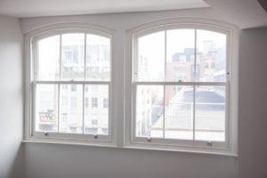 bright white sash windows london