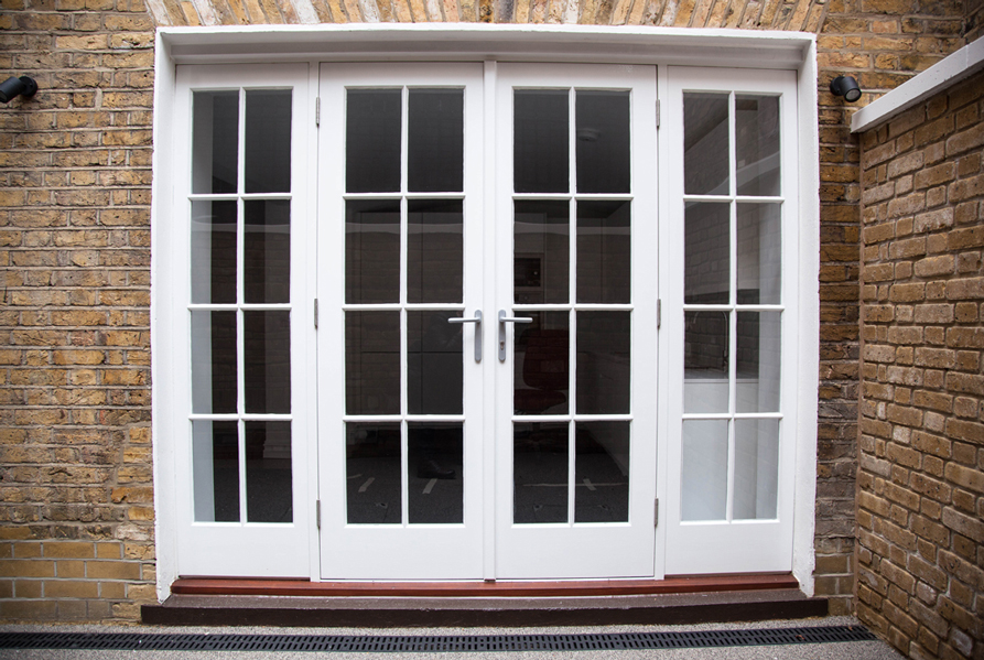 french window doors