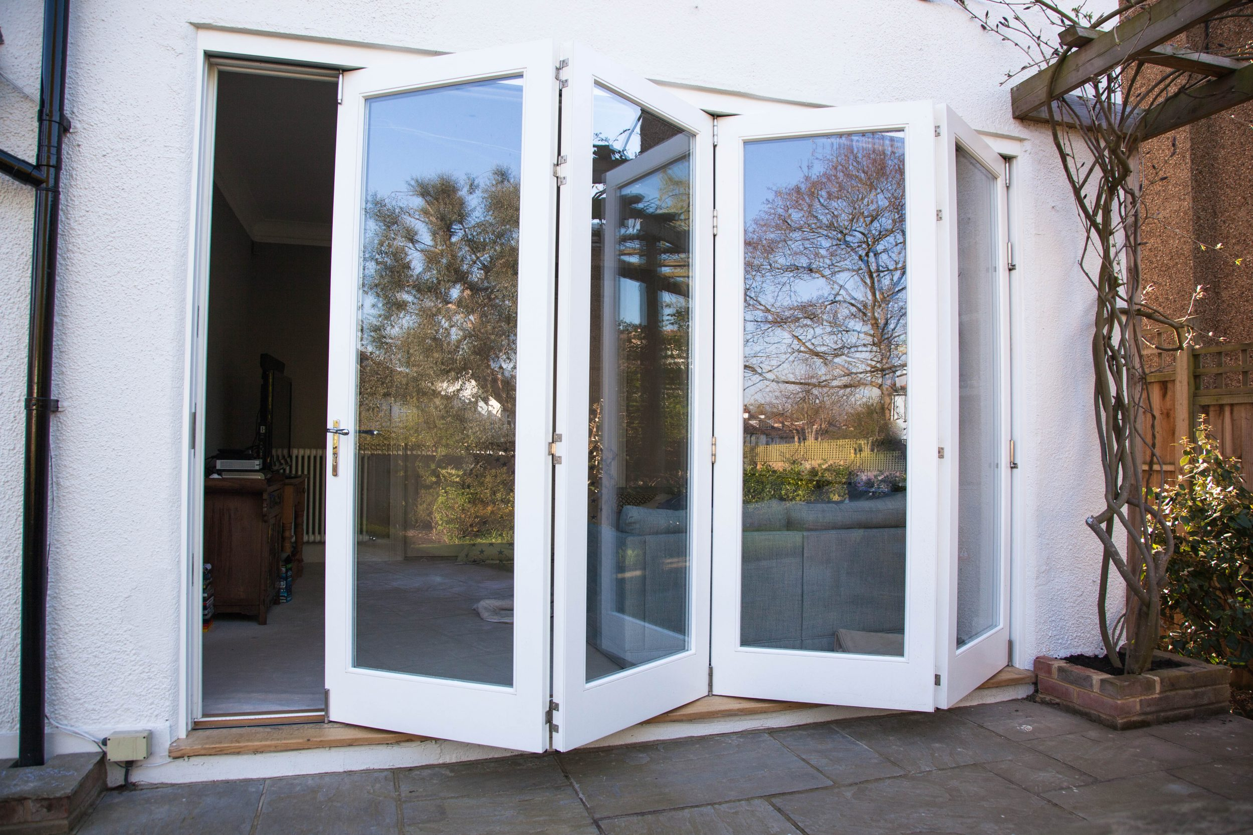 Folding doors - K&D Joinery London