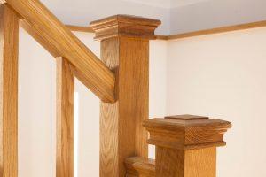 Wooden Handrail - K&D joinery