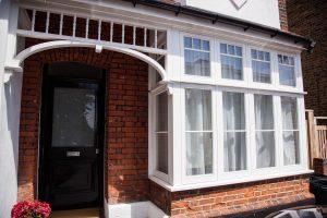 Wooden Casement windows, London. Wooden Windows