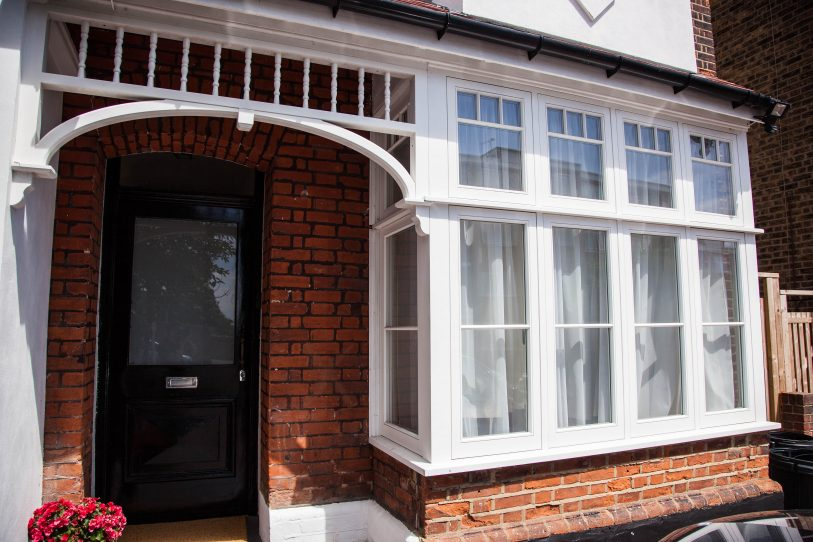 Wooden Casement windows, London. Wooden Windows