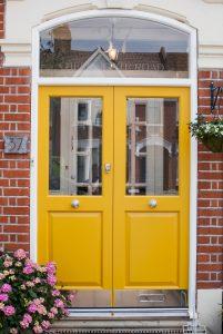 Double Front Doors, Wooden, London