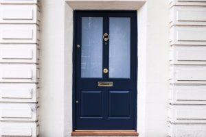 Wood Front Door - K&D Joinery