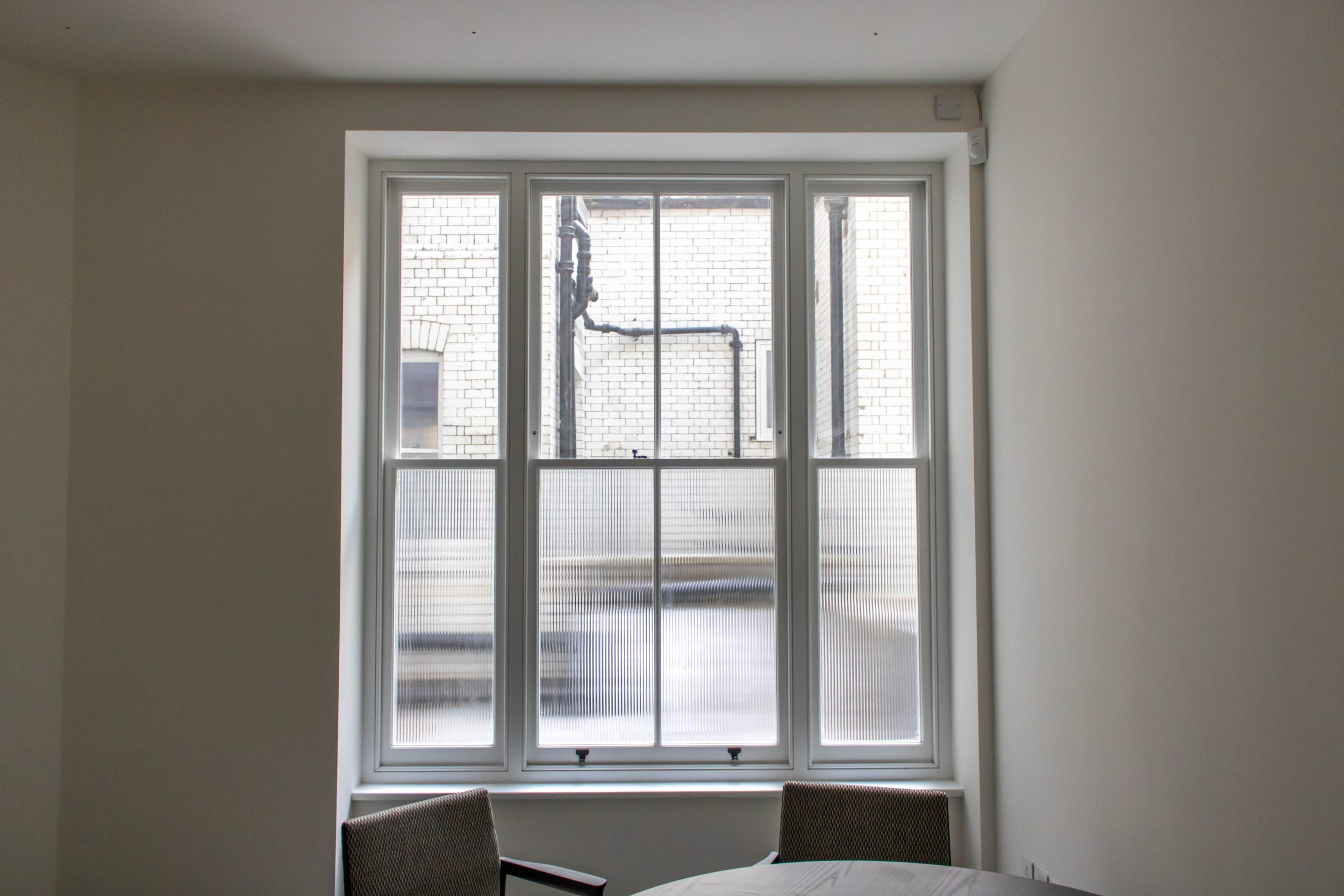 Sash Windows, Brick Street, Central London