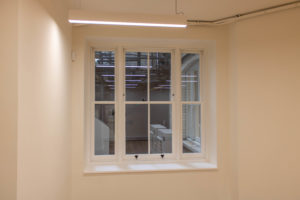 Sash Windows, Brick Street, Central London Design
