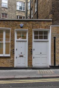 Front Door, Brick Street, Central London