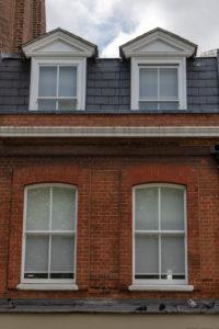 Sash Windows, Pimlico Road, Central London