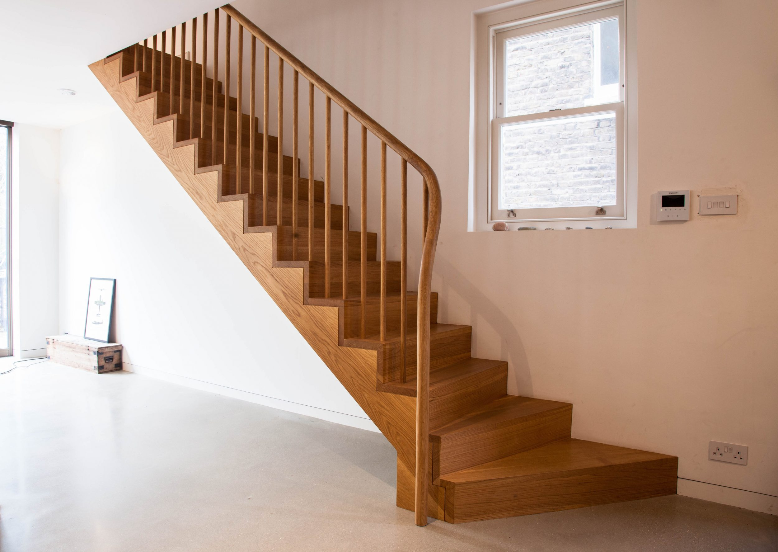 Wood Staircase - K&D joinery