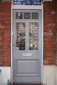 London Front Wood Door Manufacturer
