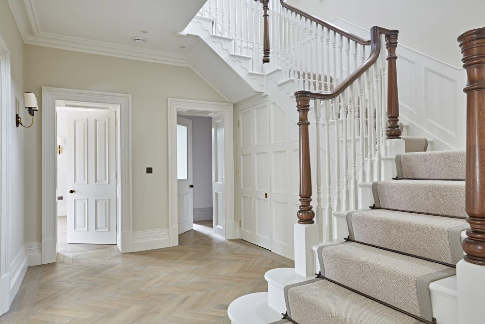 Chelsea Wood Staircase - K&D joinery