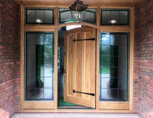 Timber Front Door Manufacturer, London