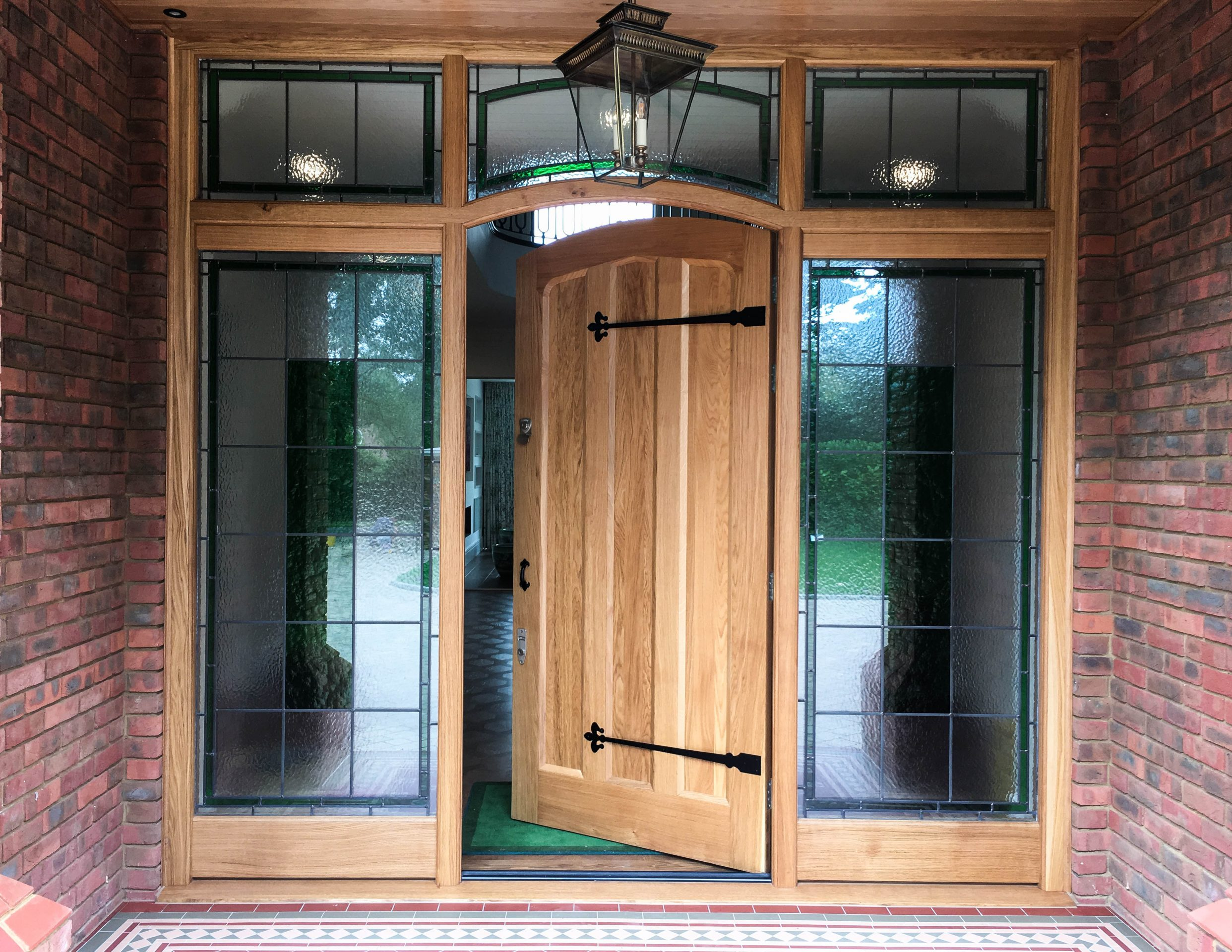 Timber Front Door Manufacturer, London