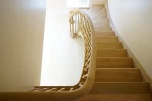 Oak Staircase and handrail - Essex