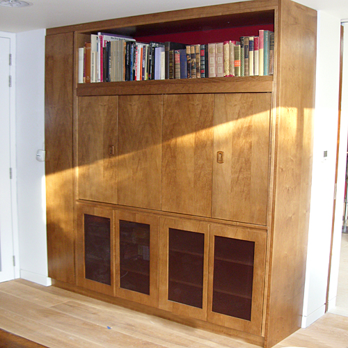 Kandd books cabinetry