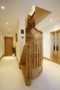 Curved staircase - London