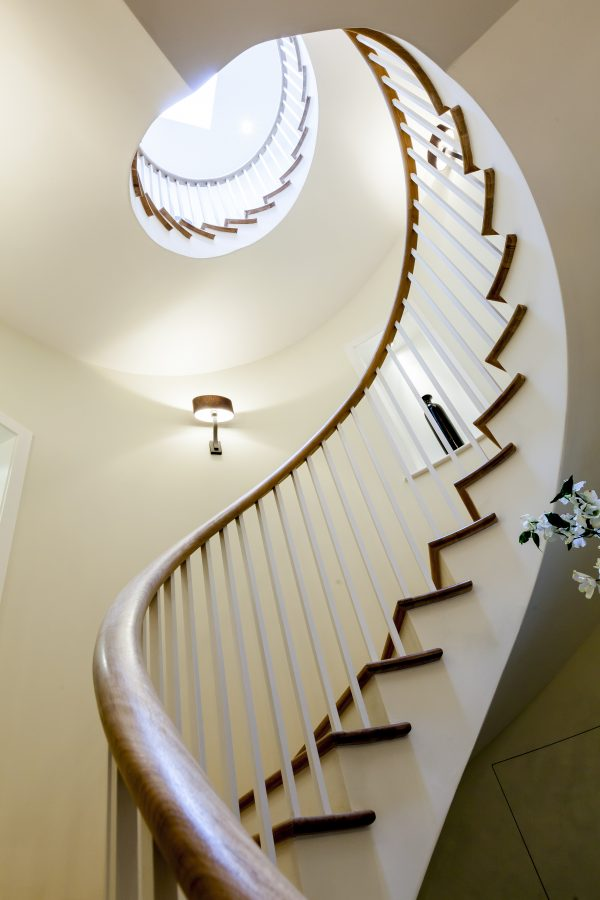 Spiral Wood Staircase - K&D joinery