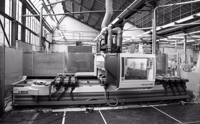 The K & D Joinery Workshop