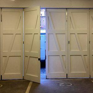 Folding Garage Doors - K&D Joinery London