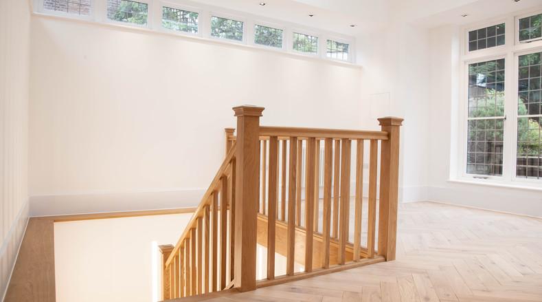 Staircase landing - London