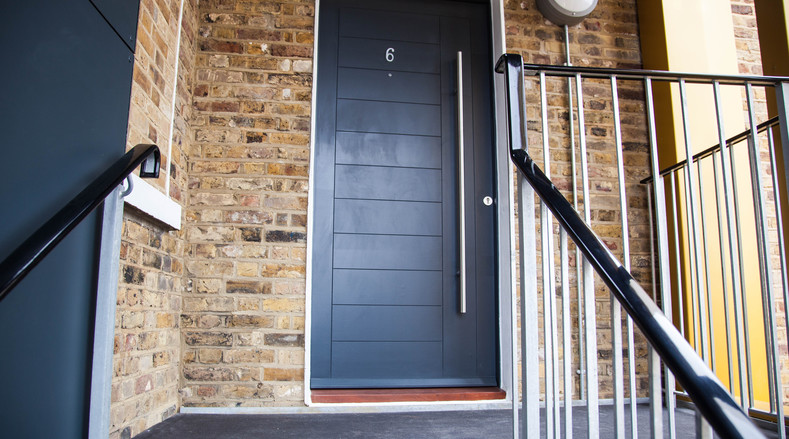 Wood External Door and Frame - London