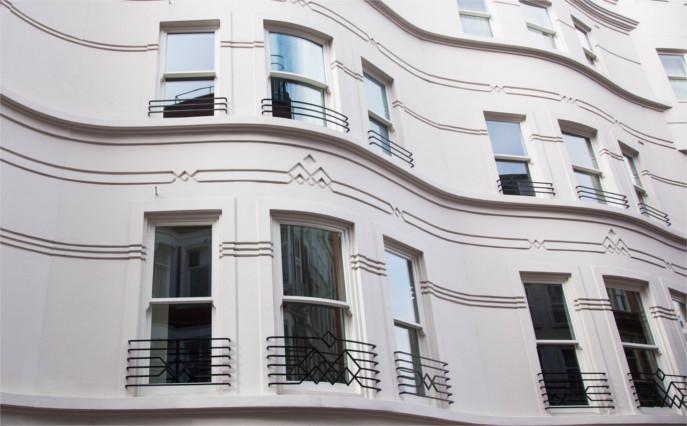 Accoya sash windows - K&D Joinery London
