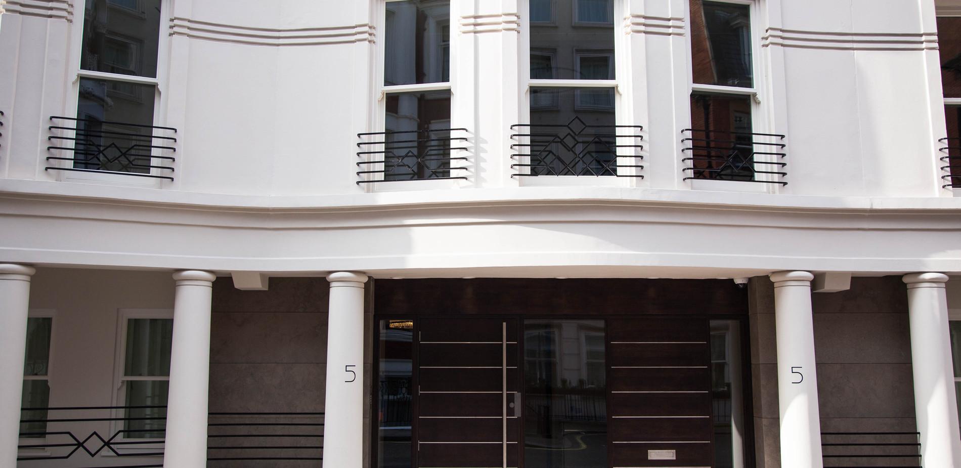 External doors and sash windows - London SW1
