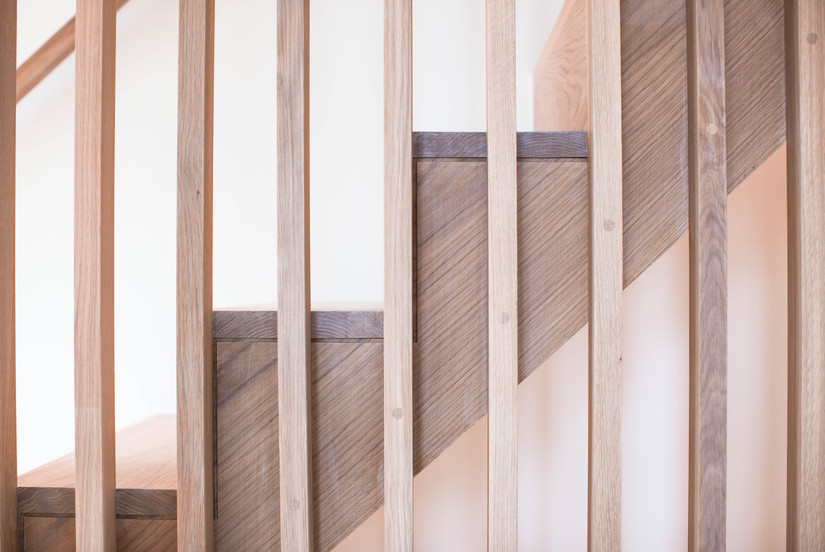 Luxury Wooden Staircase - K&D joinery