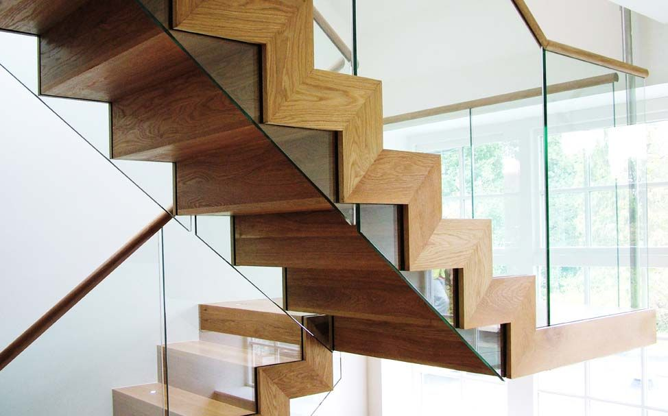 High End Wooden Staircase - K&D joinery