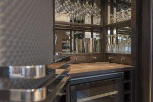 Kandd restaurant bar cabinetry