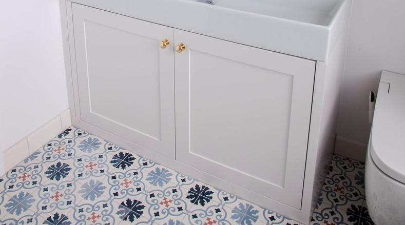 Toilet cabinetry - Victorian renovation - K&D joinery