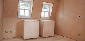 Birch Ply - Victorian renovation - K&D joinery
