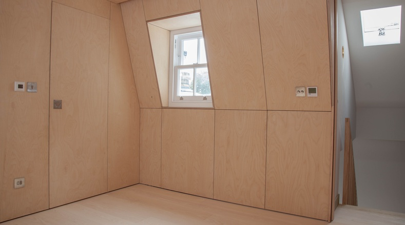 Birch Ply - Islington renovation - K&D joinery