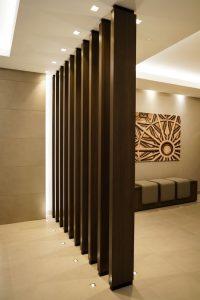 Wooden divider - K&D Joinery London