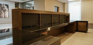 Kandd Cabinetry set up