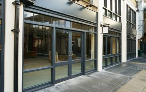 Shop Front Entrance and windows