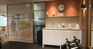 Kand Indoor Cabinetry set up