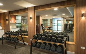 Gym woodwork - K&D Joinery London