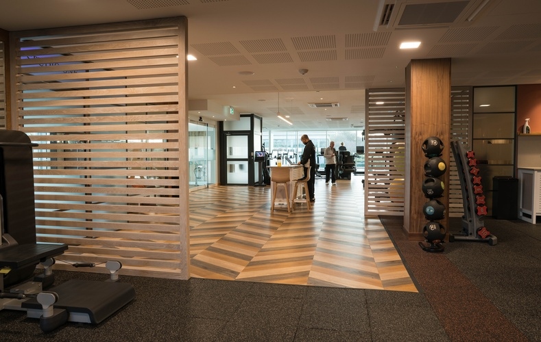 Kandd Indoor Gym Cabinetry