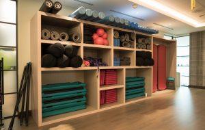 Gym shelving - K&D Joinery London
